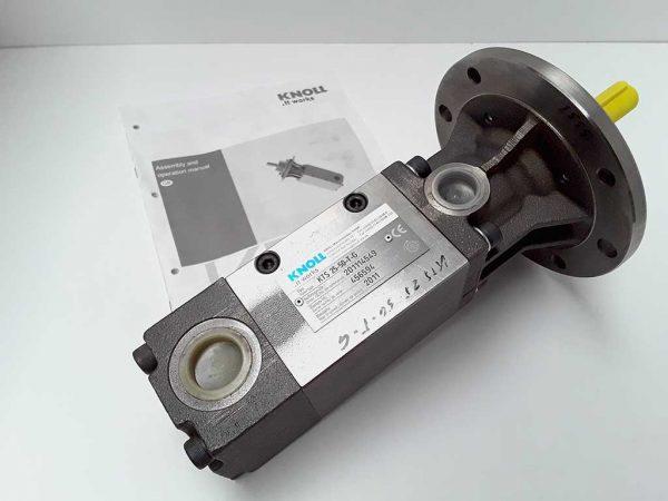 Knoll screw pump